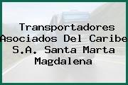 Transportadores Asociados Del Caribe S.A. Santa Marta Magdalena