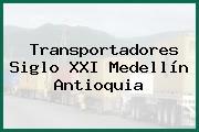 Transportadores Siglo XXI Medellín Antioquia