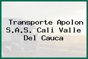 Transporte Apolon S.A.S. Cali Valle Del Cauca