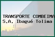 TRANSPORTE COMBEIMA S.A. Ibagué Tolima