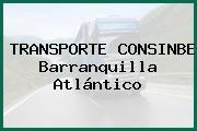 TRANSPORTE CONSINBE Barranquilla Atlántico