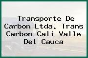 Transporte De Carbon Ltda. Trans Carbon Cali Valle Del Cauca