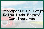 Transporte De Carga Dalau Ltda Bogotá Cundinamarca