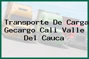 Transporte De Carga Gecargo Cali Valle Del Cauca