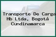Transporte De Carga Hb Ltda. Bogotá Cundinamarca