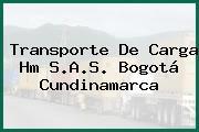 Transporte De Carga Hm S.A.S. Bogotá Cundinamarca