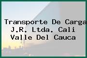 Transporte De Carga J.R. Ltda. Cali Valle Del Cauca