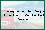 Transporte De Carga Libre Cali Valle Del Cauca
