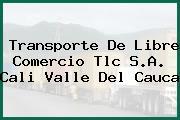 Transporte De Libre Comercio Tlc S.A. Cali Valle Del Cauca