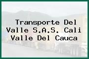 Transporte Del Valle S.A.S. Cali Valle Del Cauca