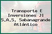Transporte E Inversiones Jl S.A.S. Sabanagrande Atlántico