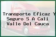 Transporte Eficaz Y Seguro S A Cali Valle Del Cauca