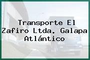 Transporte El Zafiro Ltda. Galapa Atlántico