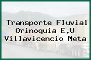 Transporte Fluvial Orinoquia E.U Villavicencio Meta
