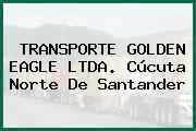 TRANSPORTE GOLDEN EAGLE LTDA. Cúcuta Norte De Santander