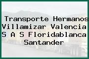 Transporte Hermanos Villamizar Valencia S A S Floridablanca Santander