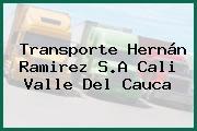 Transporte Hernán Ramirez S.A Cali Valle Del Cauca