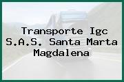 Transporte Igc S.A.S. Santa Marta Magdalena