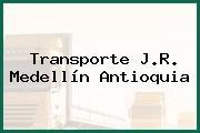 Transporte J.R. Medellín Antioquia