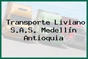 Transporte Liviano S.A.S. Medellín Antioquia