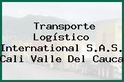 Transporte Logístico International S.A.S. Cali Valle Del Cauca