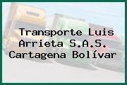Transporte Luis Arrieta S.A.S. Cartagena Bolívar