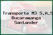 Transporte M3 S.A.S Bucaramanga Santander