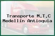 Transporte M.T.C Medellín Antioquia