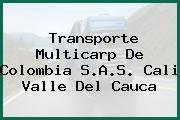 Transporte Multicarp De Colombia S.A.S. Cali Valle Del Cauca