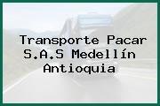 Transporte Pacar S.A.S Medellín Antioquia
