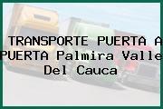 TRANSPORTE PUERTA A PUERTA Palmira Valle Del Cauca