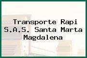 Transporte Rapi S.A.S. Santa Marta Magdalena