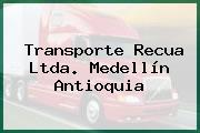 Transporte Recua Ltda. Medellín Antioquia
