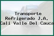 Transporte Refrigerado J.A. Cali Valle Del Cauca