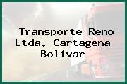 TRANSPORTE RENO LTDA. Cartagena Bolívar