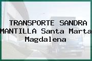 TRANSPORTE SANDRA MANTILLA Santa Marta Magdalena