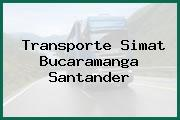 Transporte Simat Bucaramanga Santander