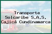 Transporte Solcaribe S.A.S. Cajicá Cundinamarca