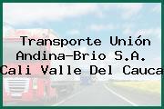 Transporte Unión Andina-Brio S.A. Cali Valle Del Cauca