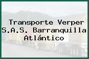 Transporte Verper S.A.S. Barranquilla Atlántico