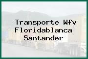 Transporte Wfv Floridablanca Santander