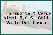 Transporte Y Carga Nissi S.A.S. Cali Valle Del Cauca