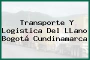 Transporte Y Logistica Del LLano Bogotá Cundinamarca