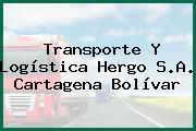 Transporte Y Logística Hergo S.A. Cartagena Bolívar