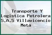 Transporte Y Logistica Petrolera S.A.S Villavicencio Meta