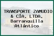 TRANSPORTE ZAMUDIO & CÍA. LTDA. Barranquilla Atlántico