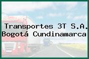 Transportes 3T S.A. Bogotá Cundinamarca