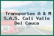 Transportes A & M S.A.S. Cali Valle Del Cauca