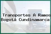 Transportes A Ramos Bogotá Cundinamarca