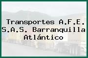 Transportes A.F.E. S.A.S. Barranquilla Atlántico